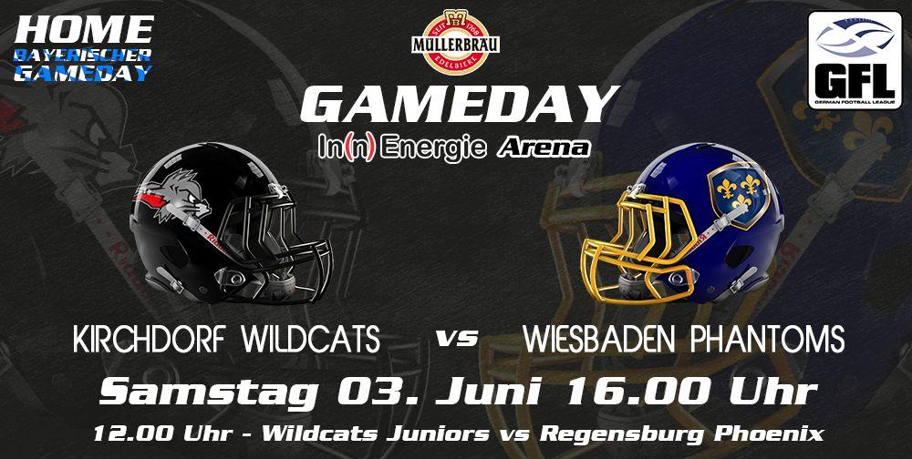 Kirchdorf Wildcats Spitzenspiel am Dultsamstag