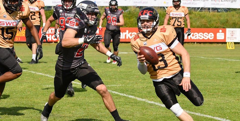 Kirchdorf Wildcats siegen im Gießener Waldstadion