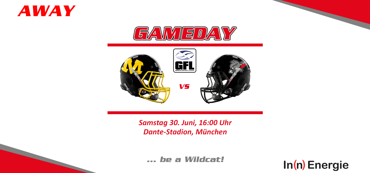 Kirchdorf Wildcats in München bei den Munich Cowboys