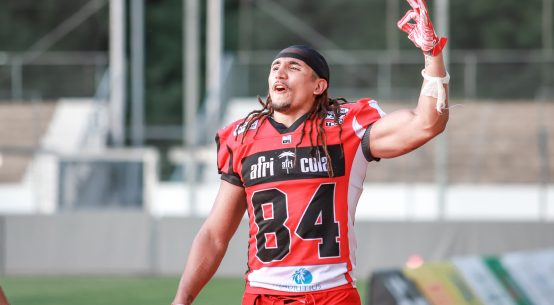 Jakob Johnson wird als Teil des International Pathway Program Teil der NFL.