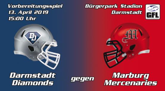 Darmstadt Diamonds Marburg Mercenaries