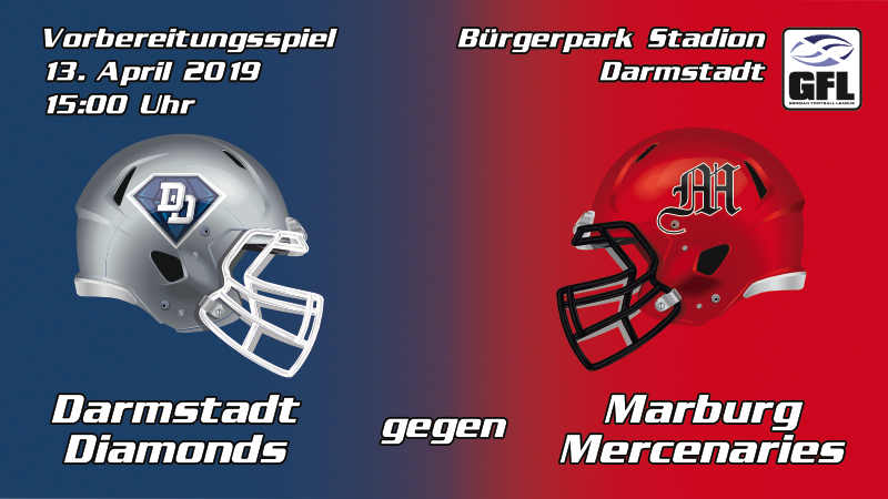Darmstadt Diamonds Marburg Mercenaries