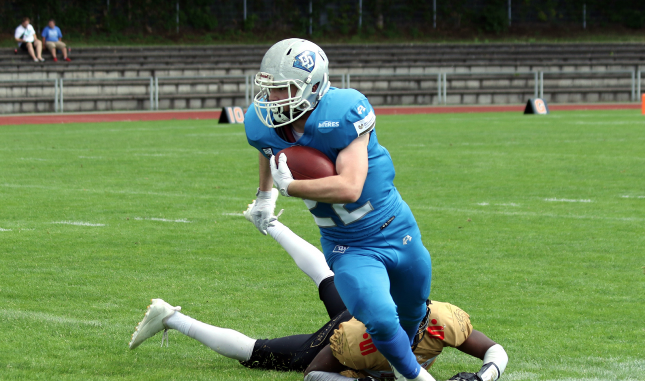 Jerry Böhmann Darmstadt Diamonds Giessen Golden Dragons