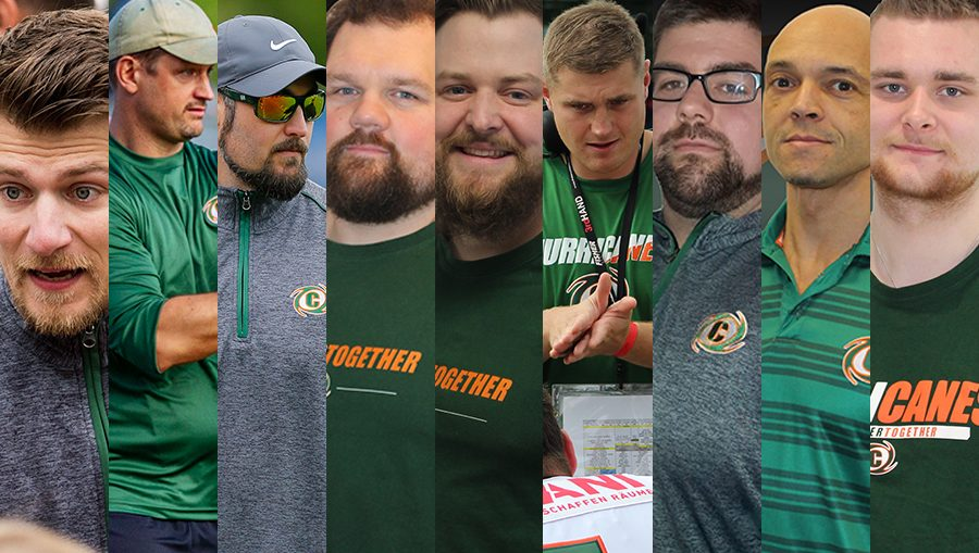 Hurricanes Coaching Staff 2021