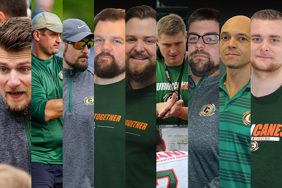 Hurricanes Coaching Staff 2021